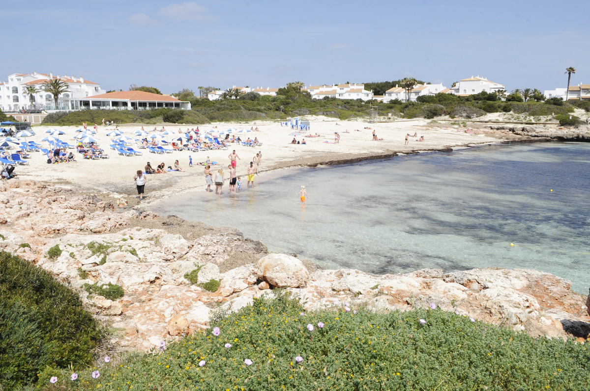 playa calan bosch