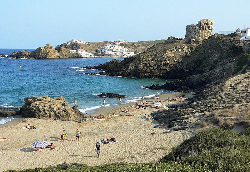 Playas de Menorca Cala Mesquida