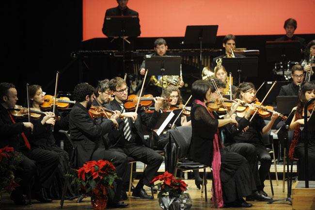 concierto de cap dAny con la orquestra de cambra illa de menorca