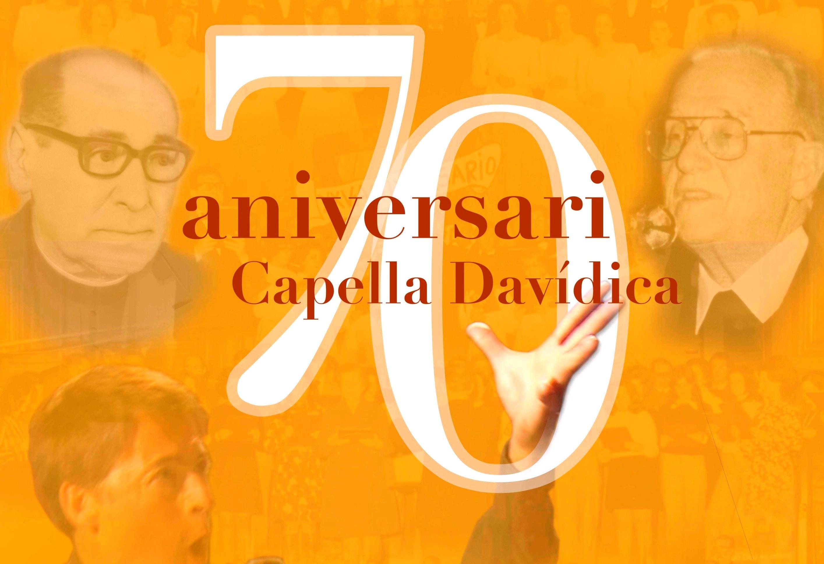 Imagen del cartel del concierto, con el rostro de sus tres ex directores.