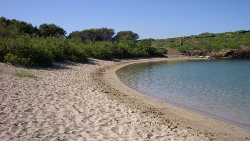Platja dels Tamarells (del sud)