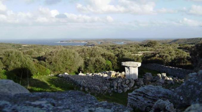 Poblado talayótico de sa Torreta de Tramuntana. Foto Parc Natural de s'Albufera des Grau