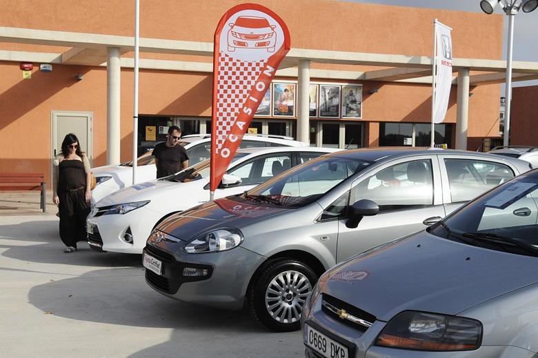 Feria del automovil en ciutadella