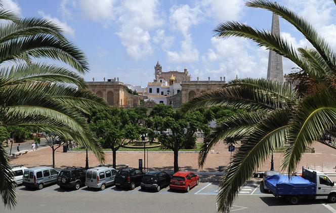 plaza del born ciutadella