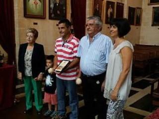 Acto de homenaje Ajuntament Ciutadella Antoni y José Luis Febrer