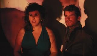 Marco Mezquida y Celeste Alías en una foto que es la portada de su disco 'Llunàtics'.