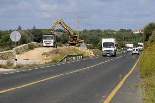obras carretera general tramo alaior