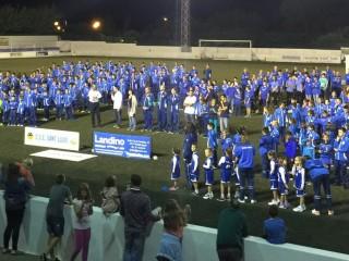 Orgullo azul en Sant Lluís