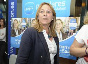 Águeda Reynés irá en la lista del PP al Congreso.