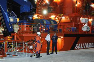 Las autoridades españolas se hicieron cargo del cuerpo del tripulante francés.