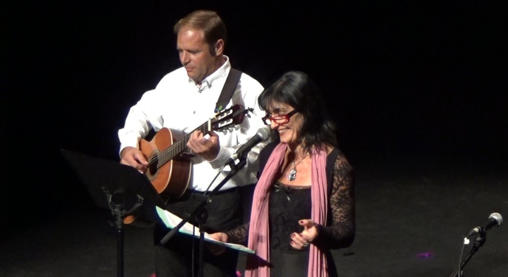 Joana Bagur y José Sanjuan en el Teatre Principal de Vilanova i la Geltrú. Foto: J.B.F.