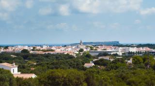 Vista de Sant Lluís.