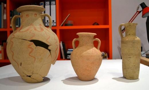 Algunas de las piezas recepcionadas por el Museu de Menorca. Foto: Museu de Menorca.