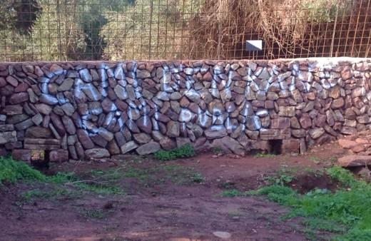Imagen tomada por la asociación Amics des Camí d'en Kane, que reivindica el uso público de este sendero a su paso por Ferreries.