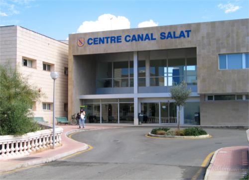 Imagen del Canal Salat de Ciutadella.