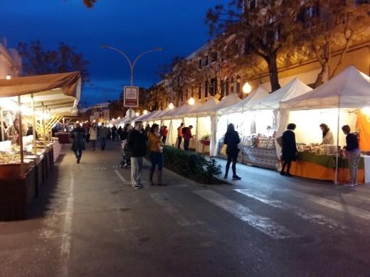 35 paradas inician 4 días de Fira de Sant Antoni en Ciutadella