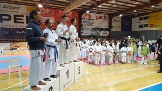 Un momento de la entrega de premios (Foto: Art Gim Menorca)