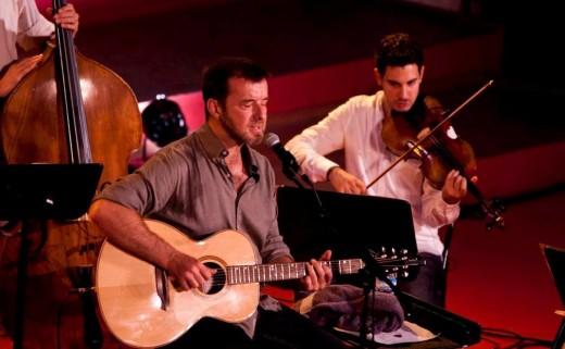 Cris Juanico en uno de sus conciertos con su espectáculo 'F(a)usta'.