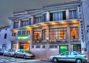 El restaurante Ca n'Aguedet de Es Mercadal.