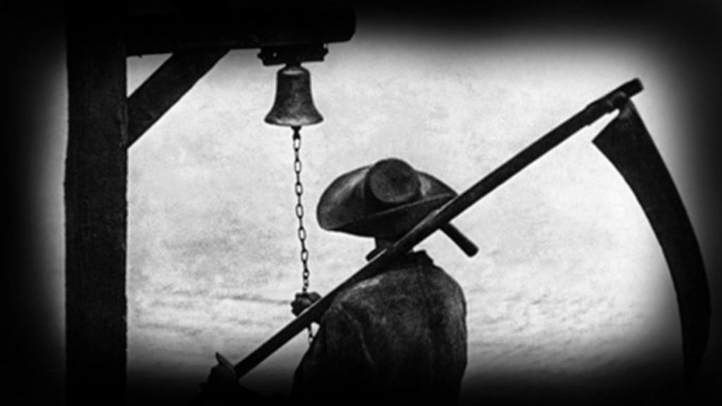 Imagen de la película 'Vampyr' de C.T. Dreyer.
