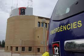 Edificio del servicio de emergencias en Palma.