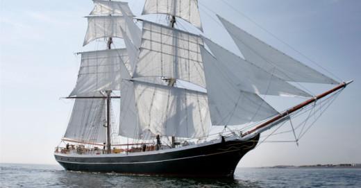 El velero Morgenster