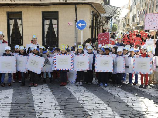 """La """"rua infantil"""" abre el Carnaval"""