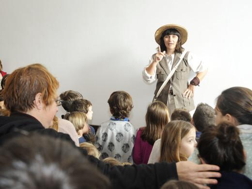 El personaje Catalina Quintana se estrena en el Museu de Menorca
