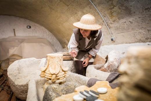 Al parecer, Catalina Quintana ha rondado durante años por el sótano del Museu. Foto: Museu de Menorca.