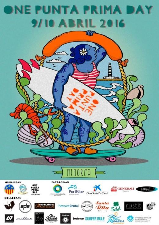Imagen del cartel promocional del One Punta Prima Day 2016.