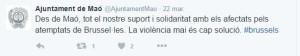 El Ajuntament de Maó mostró su apoyo
