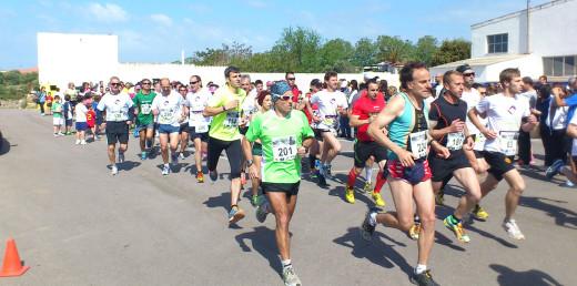 Imagen de una carrera organizada por La Salle Maó.