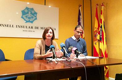 Mejora de la OSP Maite Salord y Miquel Preto han presentado las recomendaciones del Consell