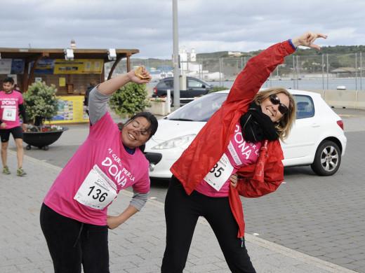 (fotos) La III Cursa de la Dona de Maó llega a los 650 participantes