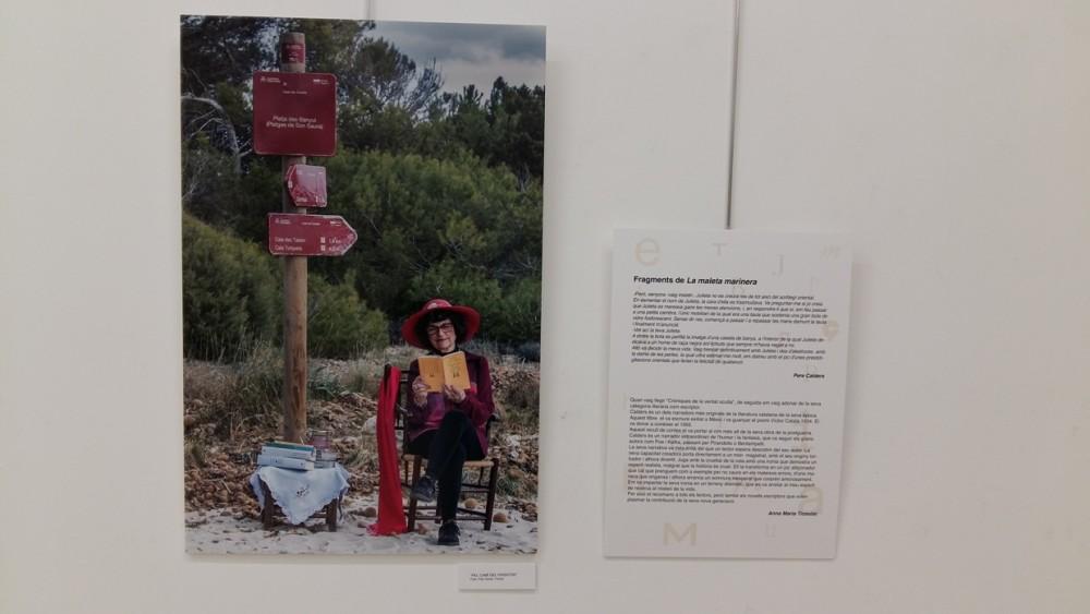 Imagen de Anna M. Ticoulat junto a un fragmento de su libro preferido y el porqué de su elección.