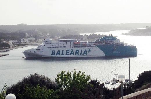 Cambios en los trayectos de Bàlearia