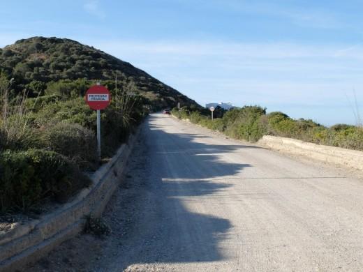 Entesa de l'Esquerra denuncia que quieren cerrar el paso por el Camí de Tirant