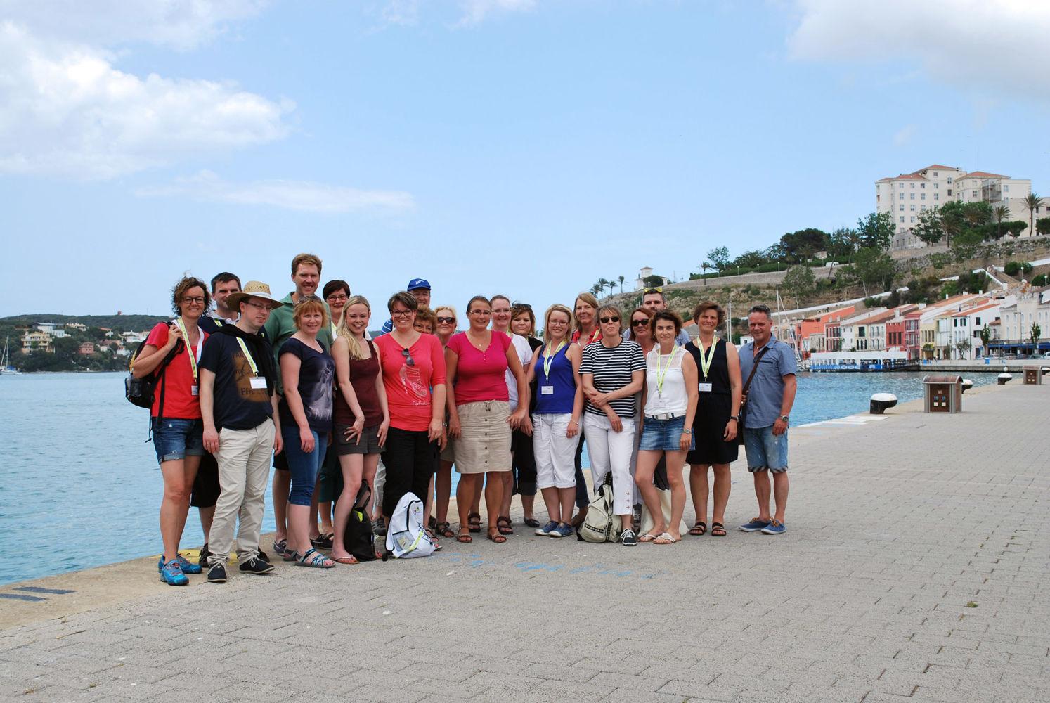 Agentes de viaje alemanes visitan menorca para mejorar el for Oficina turismo munich