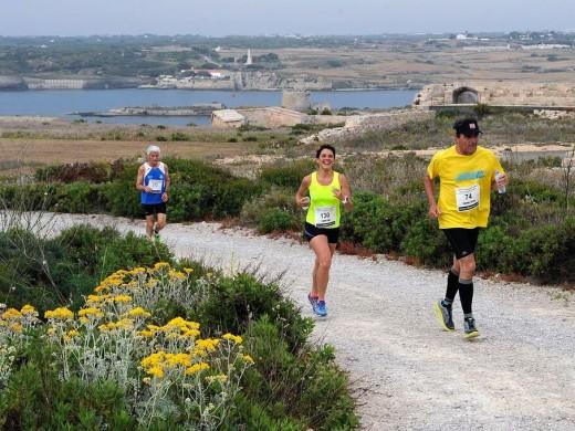 (Fotos) Invasión de atletas en La Mola