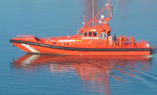 Imagen del Salvamar Antares de Salvamento Marítimo.