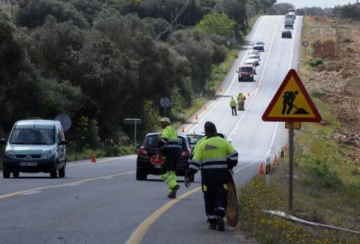 El accidente tuvo lugar en la carretera general a la altura de Es Mercadal.