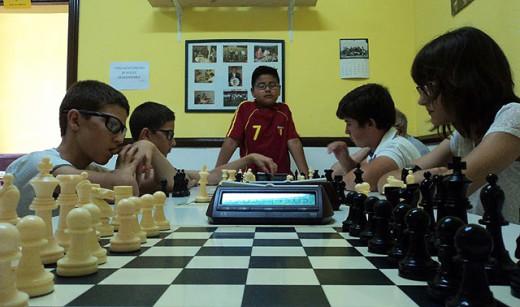 Imagen de diversas partidas del torneo (Foto: Inés Solà)