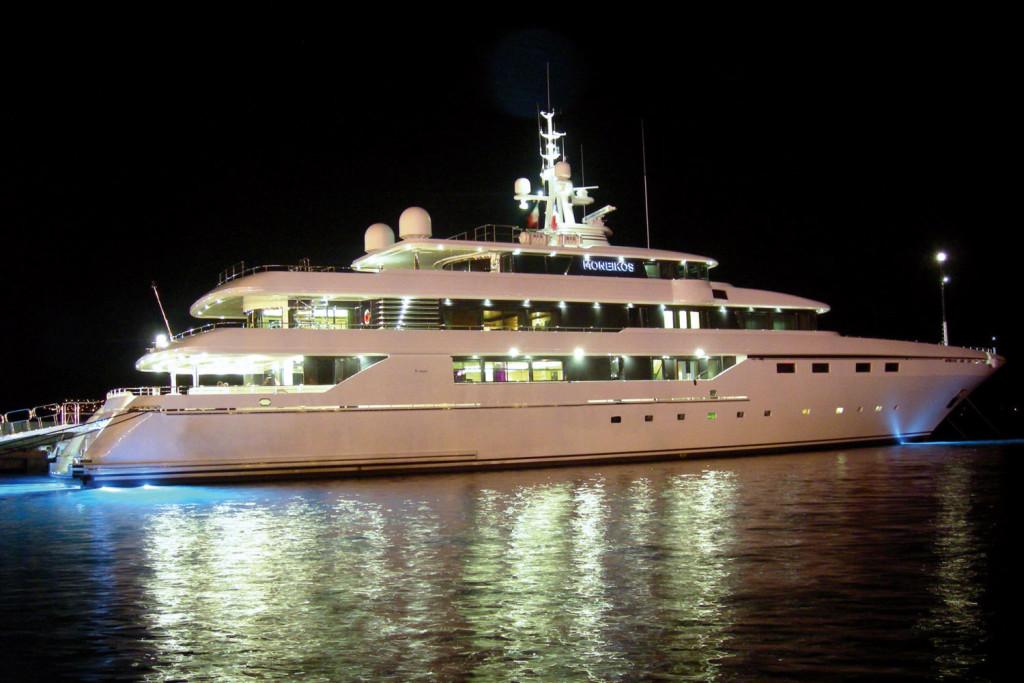 Un buque espectacular.