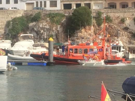 …Y otro rescate más en Ciutadella