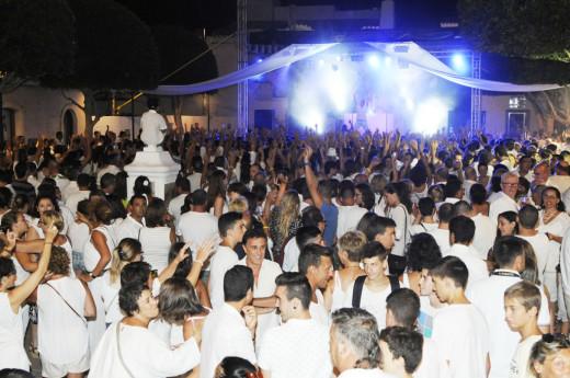 Imagen de una pasada edición de la White Party.