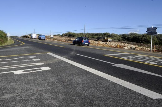 La carretera general a la altura de La Argentina