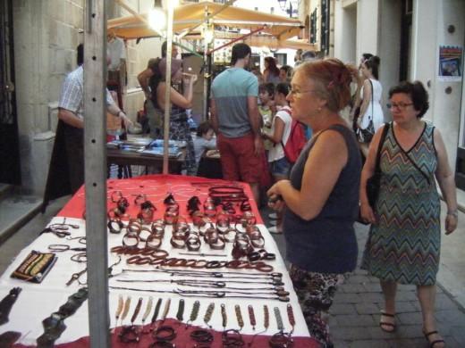 Sugrañes recuerda que antes de implantar el mercado artesanal nocturno  Alaior buscó un día libre de la semana en el calendario.