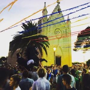 Imagen de Sant Gaietà que SWamantha distribuyó por las redes sociales