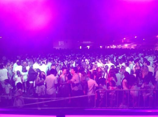Imagen de la fiesta en Ses Canaletes (Foto: CCE Sant Lluís)