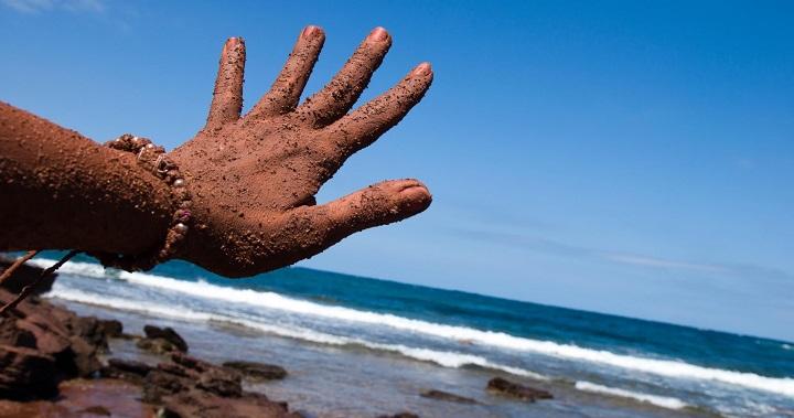 """""""Es necesario un control sobre los baños de barro en las playas"""""""